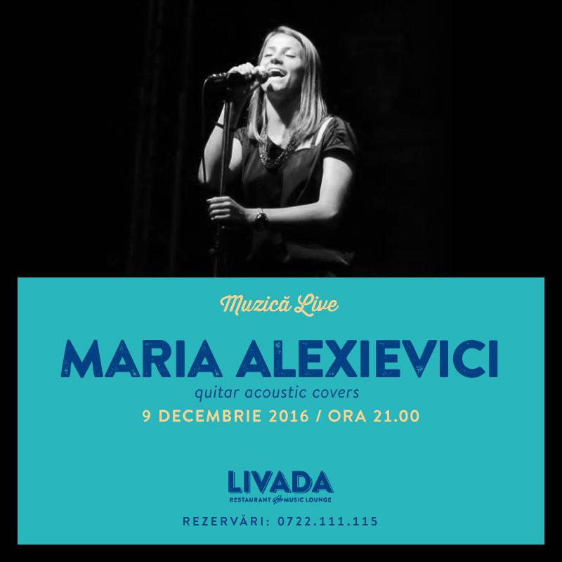 Maria Alexievici @ Restaurant Livada
