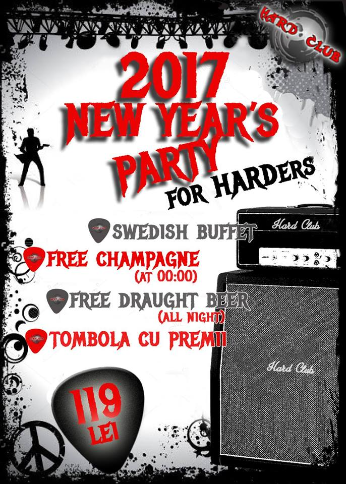 New Year's Party for Harders @ Hard Club