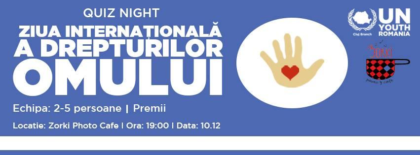 Quiz Night. Ziua Internațională a Drepturilor Omului