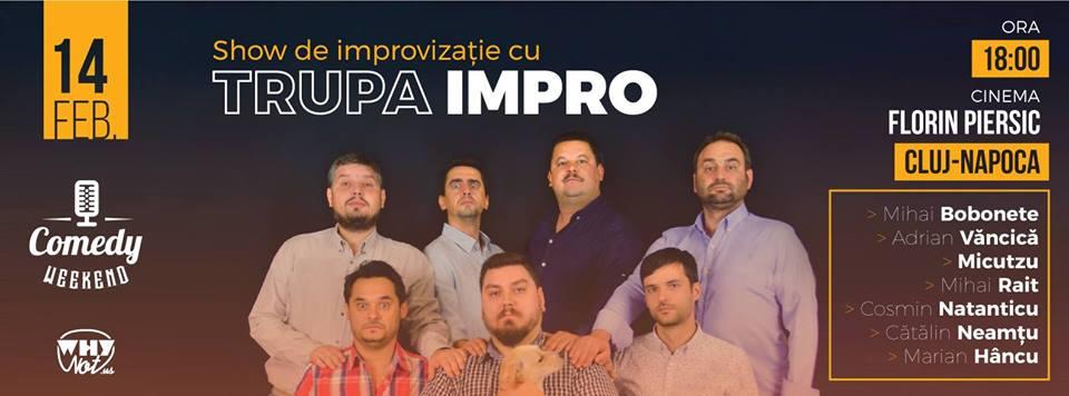 Show de improvizație cu Trupa ImPro