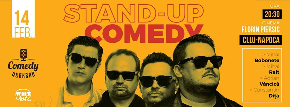 Stand-Up Comedy @ Cinema Florin Piersic