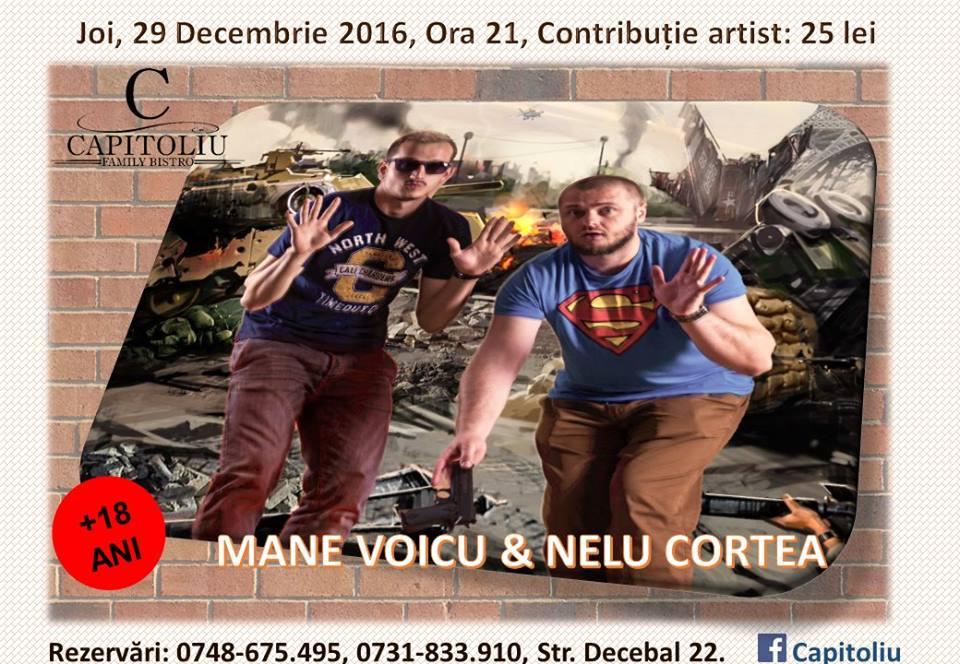 StandUp Comedy Mane Voicu & Nelu Cortea @ Capitoliu Bistro
