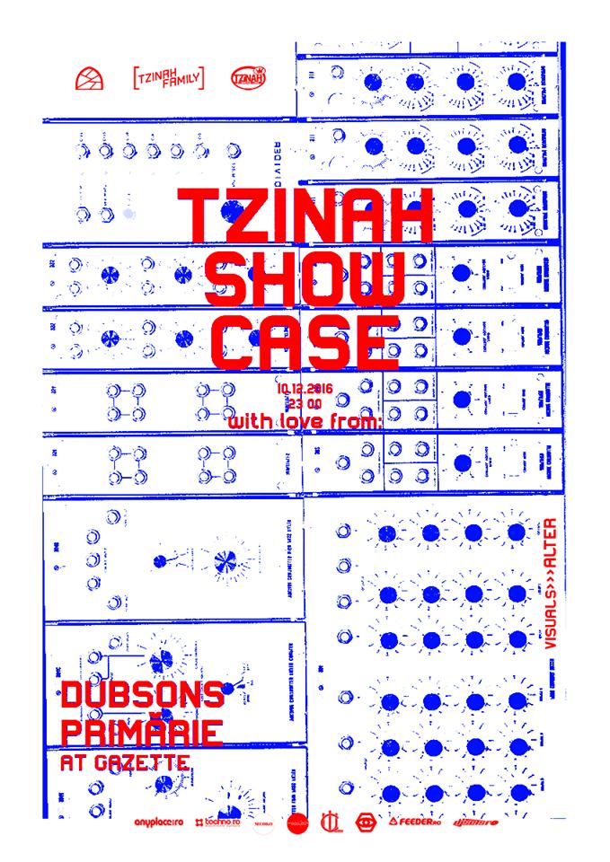 Tzinah Showcase @ Gazette