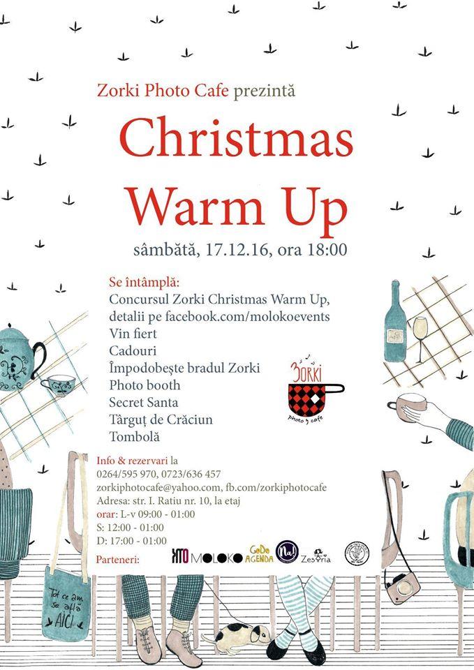 Zorki Christmas Warm Up @ Zorki Photo Cafe