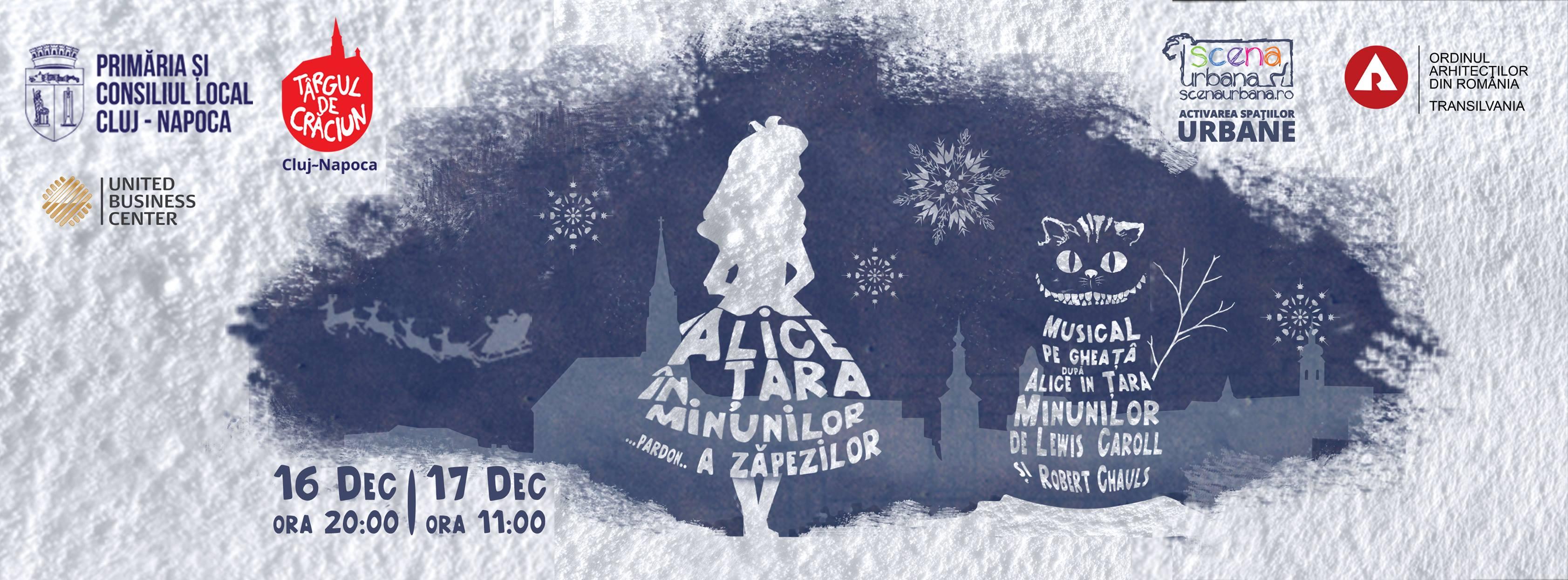 Alice în Ţara Zăpezilor – Musical pe gheaţă @ Piața Unirii