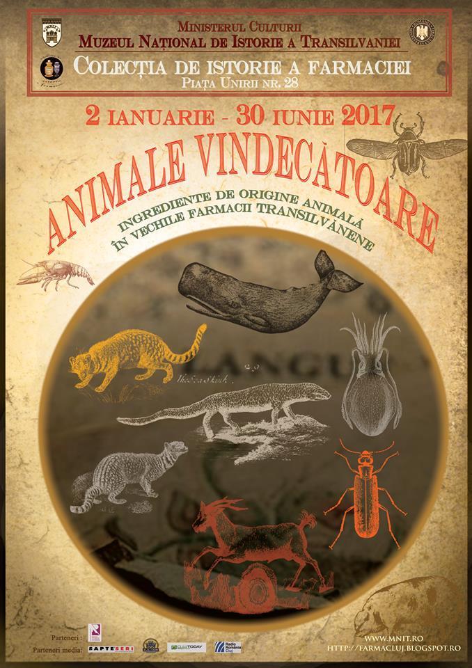 Animale vindecatoare @ Muzeul Farmaciei