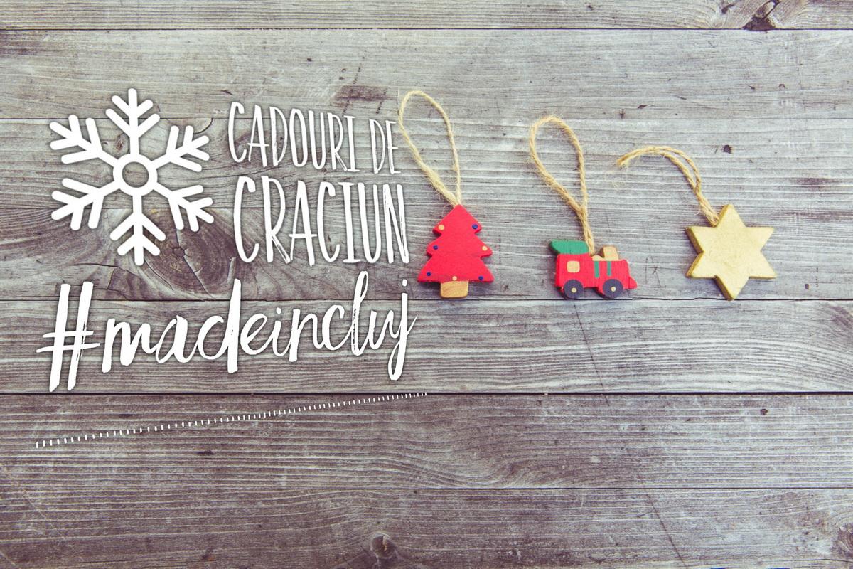 """5 idei de cadouri de Crăciun """"made in Cluj"""""""