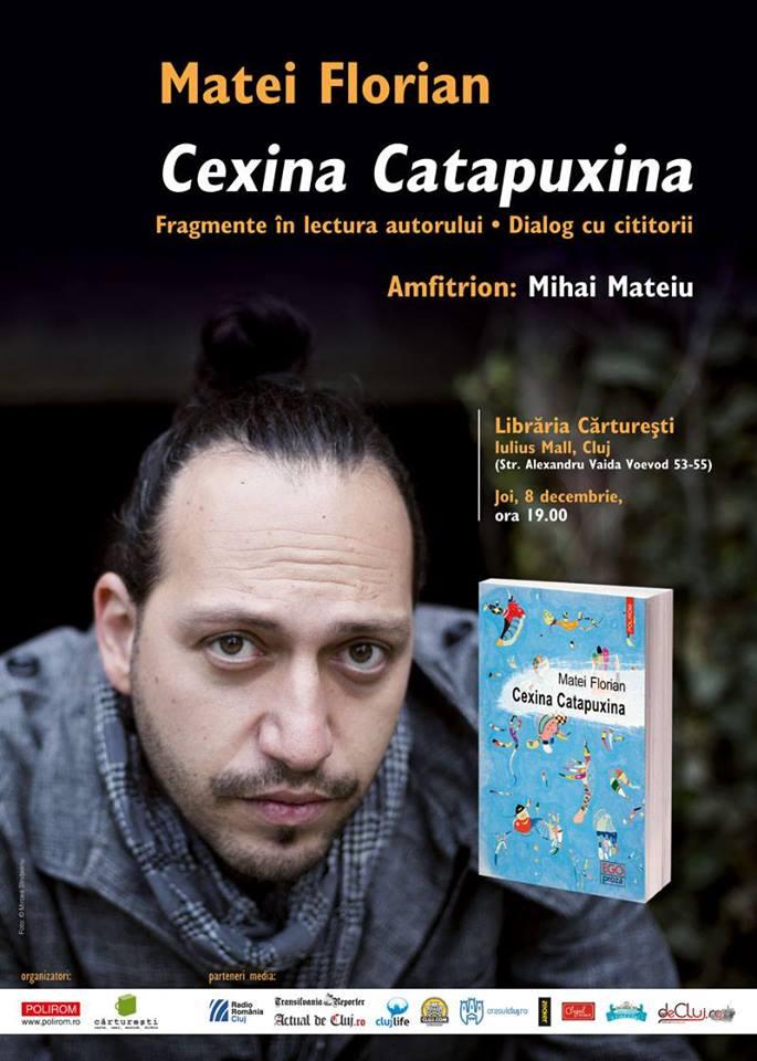 Cexina Catapuxina de Matei Florian @ Cărturești