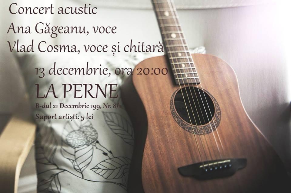 Concert Ana Gageanu si Vlad Cosma @ La Perne