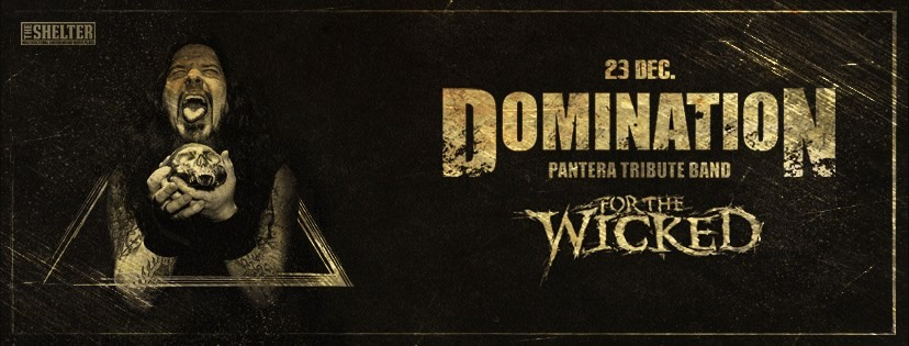 Domination [live] @ The Shelter