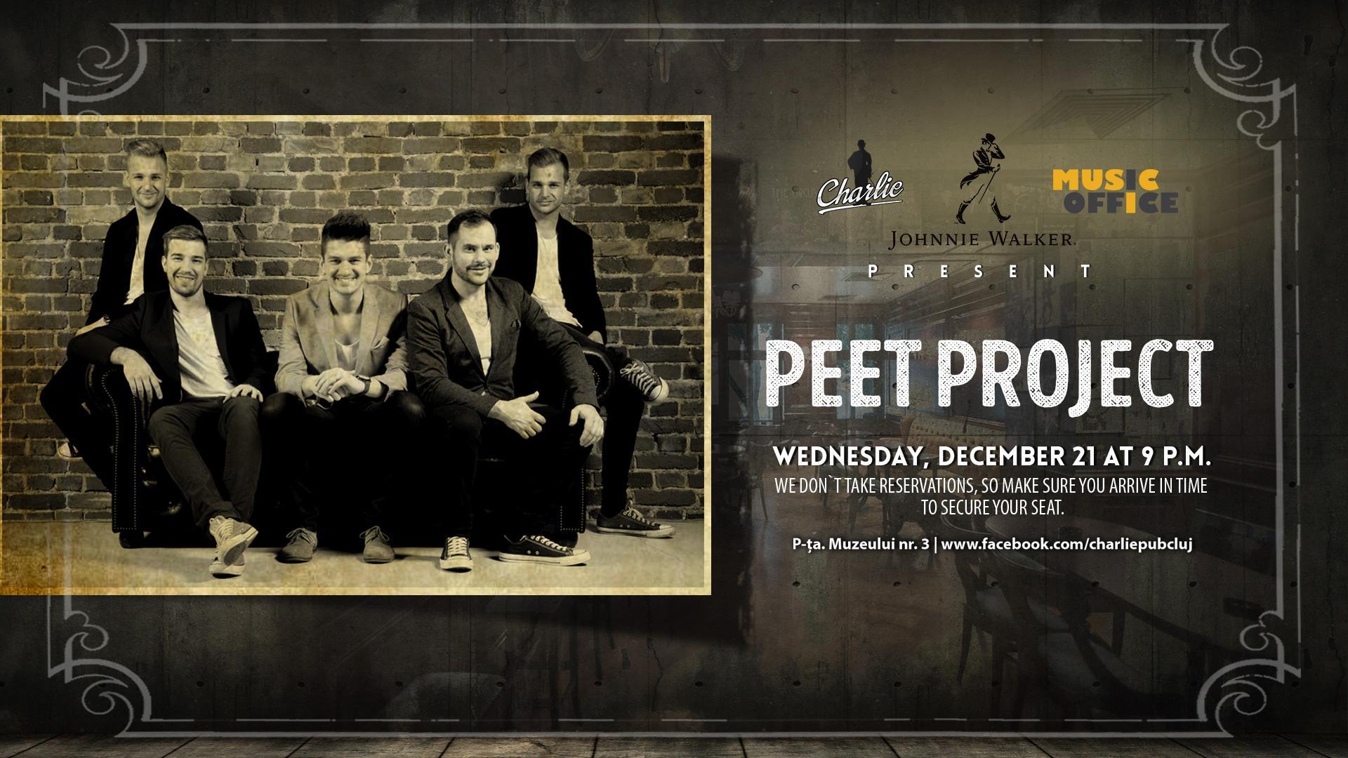 Peet Project @ Charlie