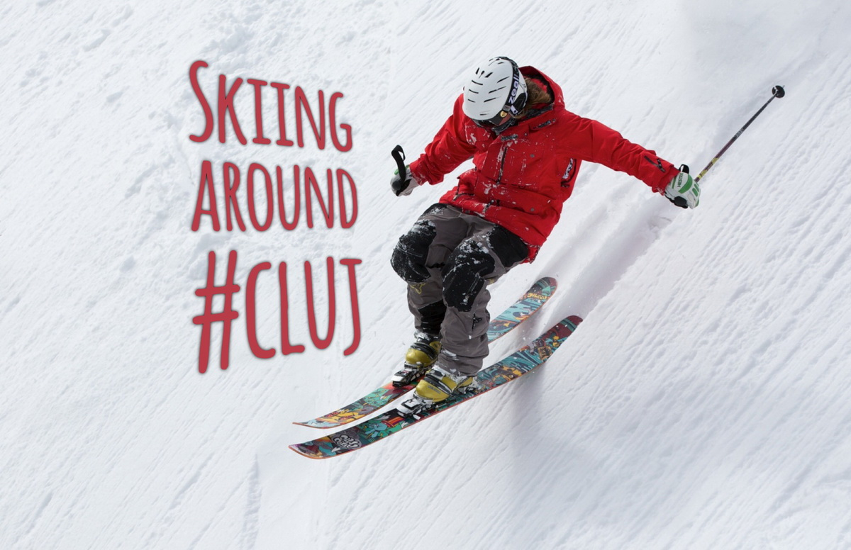 Skiing around #Cluj