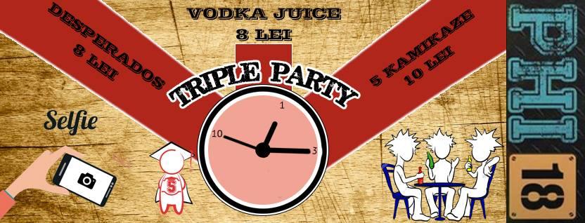 Triple Party @ Club PHI 18