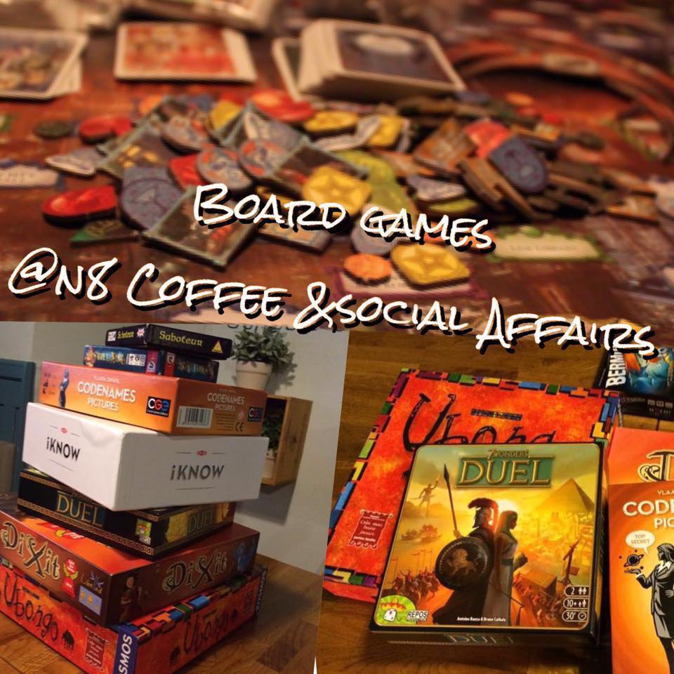 Board Games @ N8 Coffee & Social Affairs