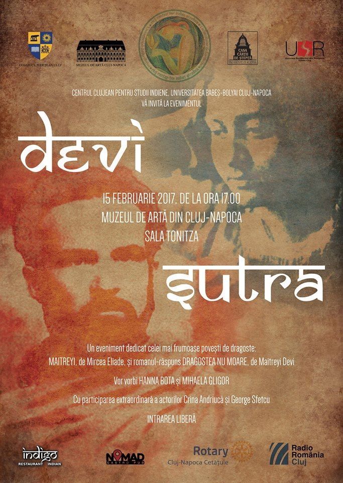Devi Sutra. Maitreyi sau Dragostea nu moare. @ Muzeul de Artă