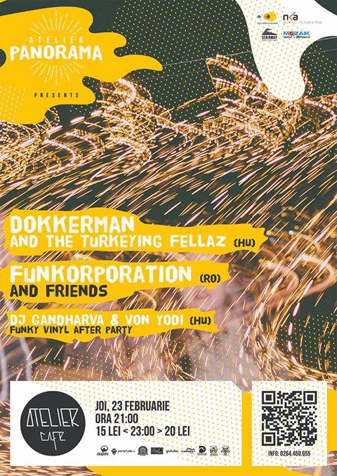 Dokkerman & FUNKorporation @ Atelier Cafe