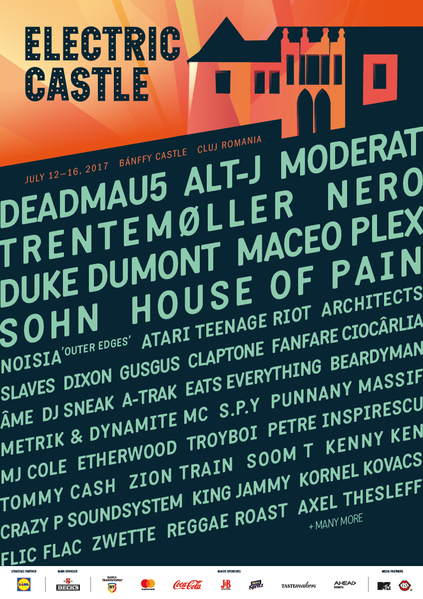 Deadmau5 la Electric Castle 2017