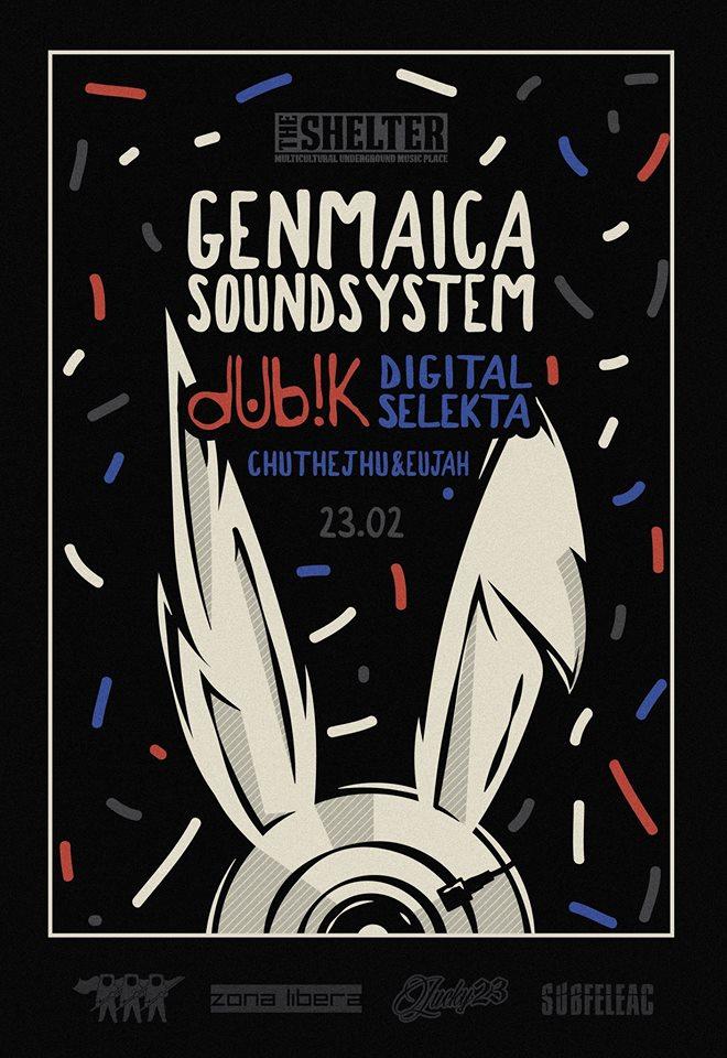 Genmaica Soundsystem @ The Shelter