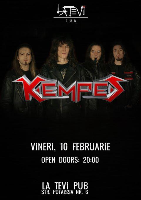 Kempes live @ La Țevi