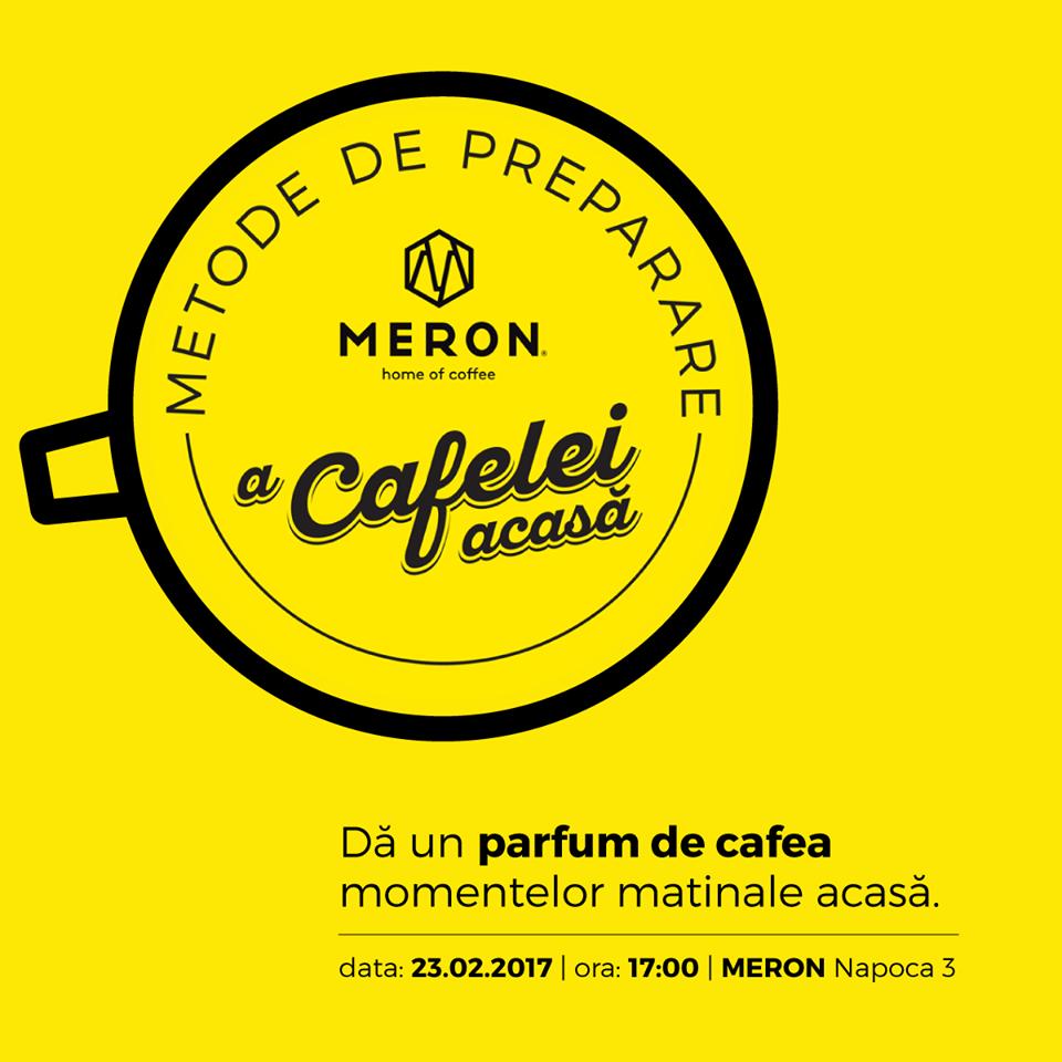 Metode de preparare a cafelei acasă @ Meron