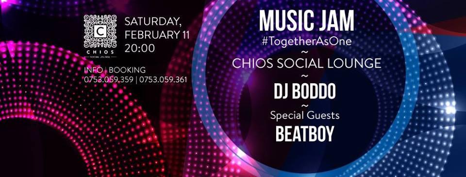 Music Jam @ CHIOS Social Lounge