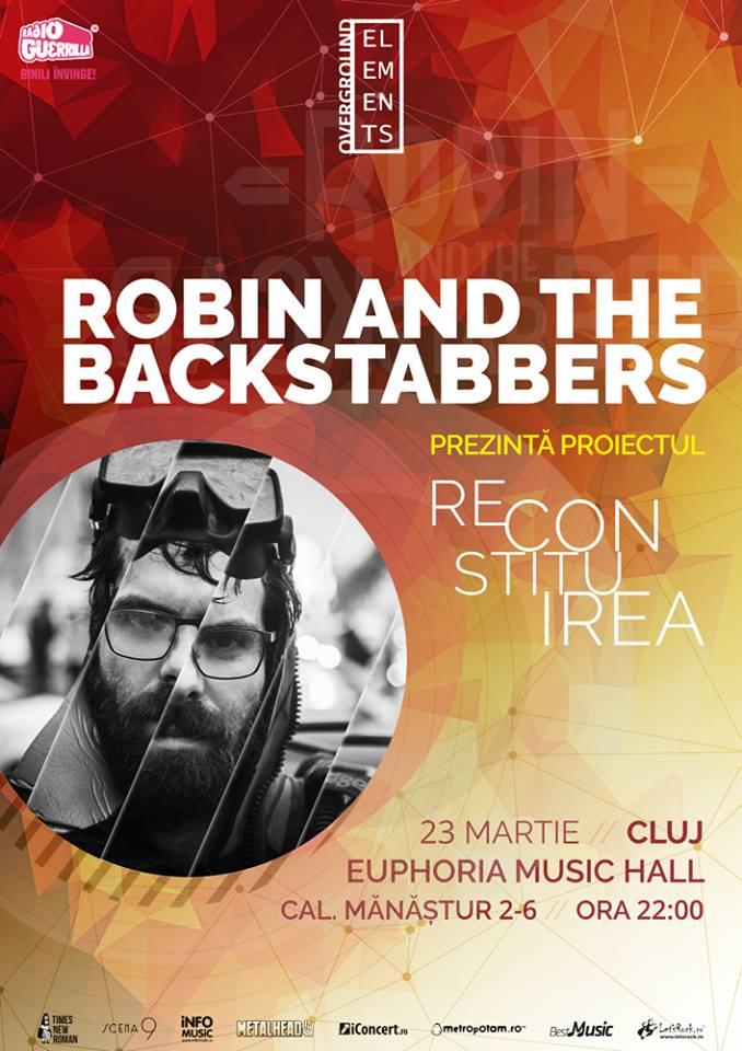 Robin and the Backstabbers @ Euphoria Music Hall