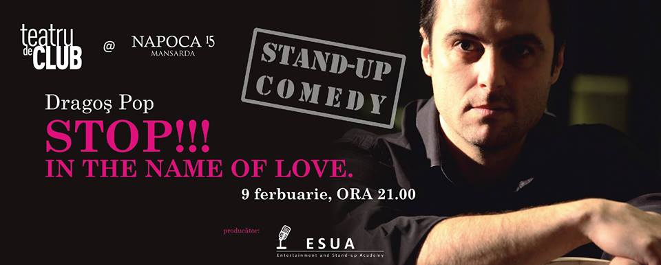 Stand-up Comedy cu Dragoş Pop @ Napoca 15