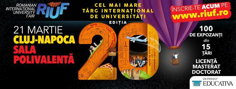 The Romanian International University Fair @ Sala Polivalentă