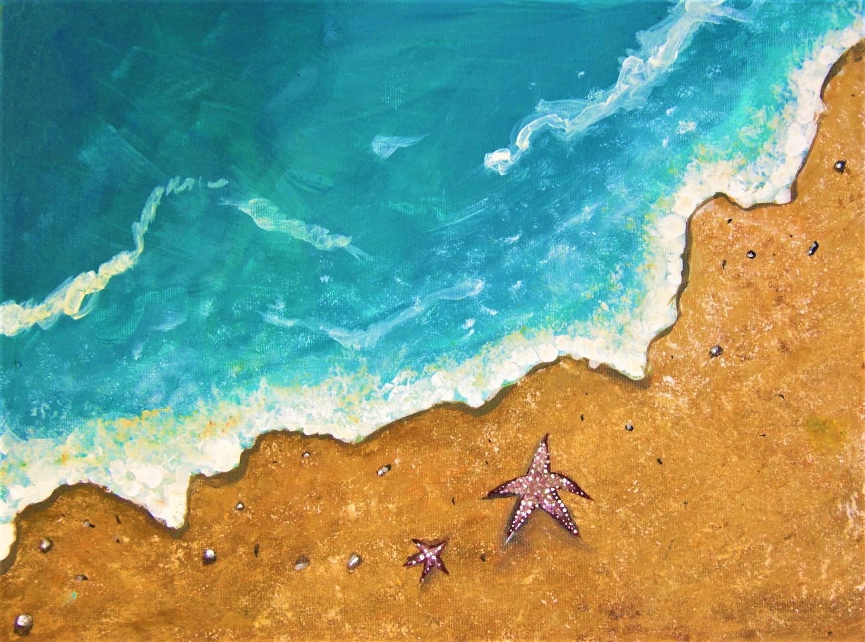 Acuarela Cocktails: Warm Beach Waves @ Marty City