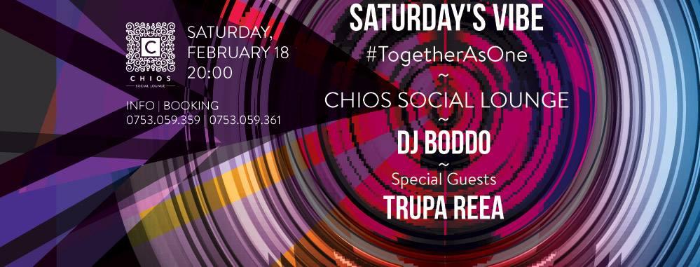 Saturday's Vibe @ Chios Social Lounge