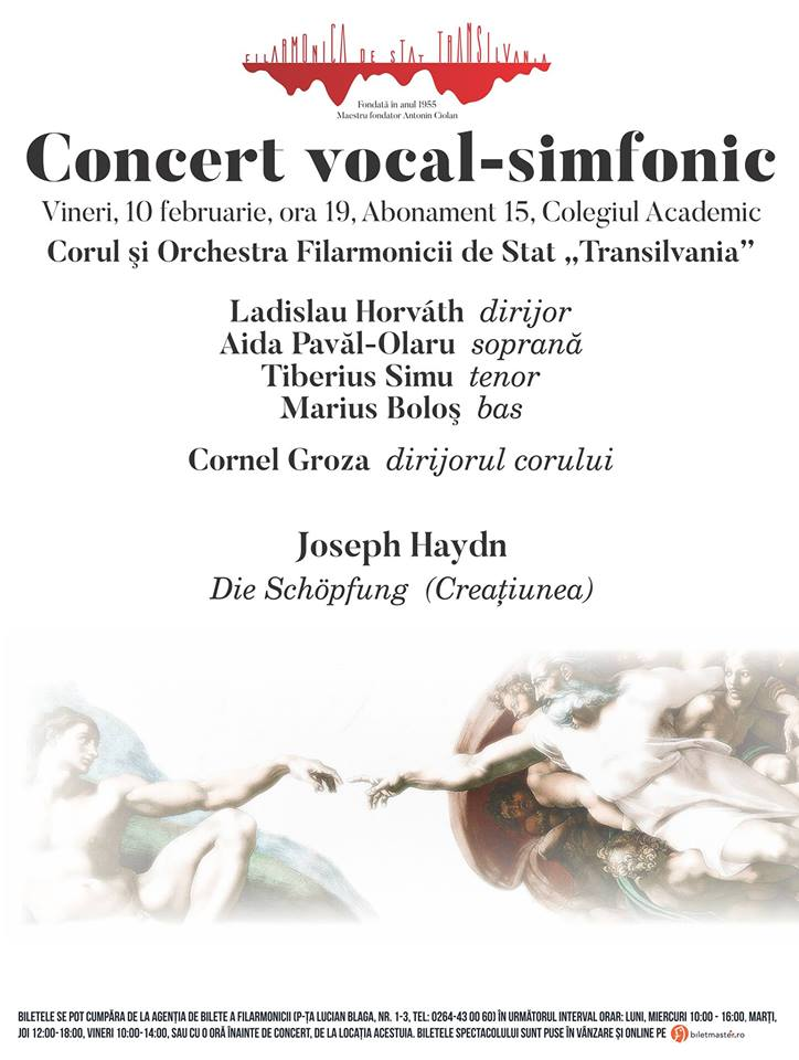 Concert vocal-simfonic – dirijor Ladislau Horváth