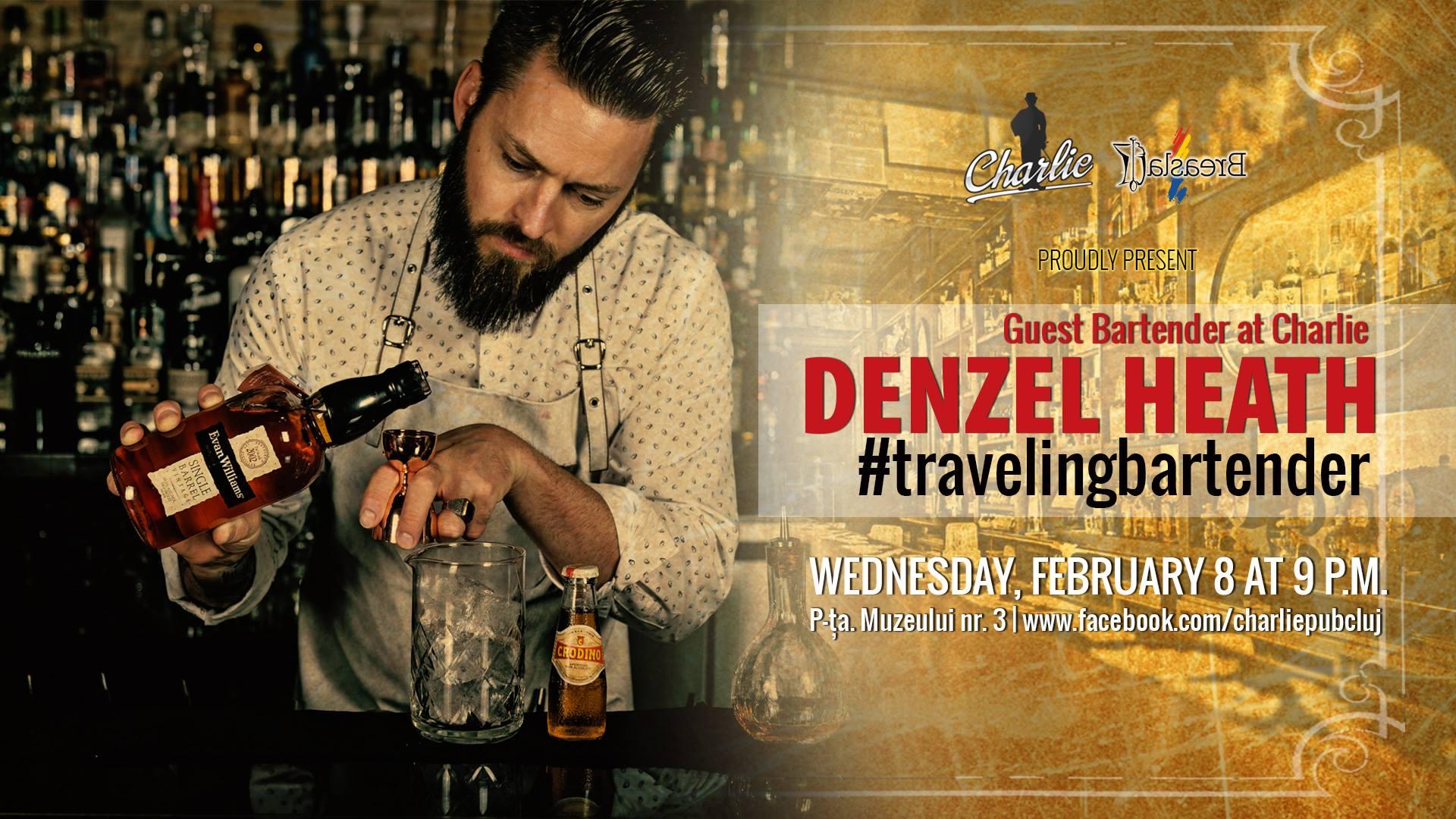 Guest bartending with Denzel Heath