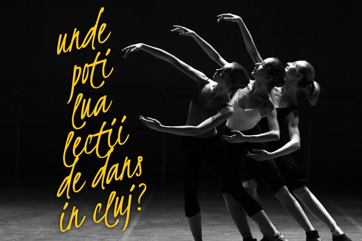 Unde poţi lua lecţii de dans în Cluj?