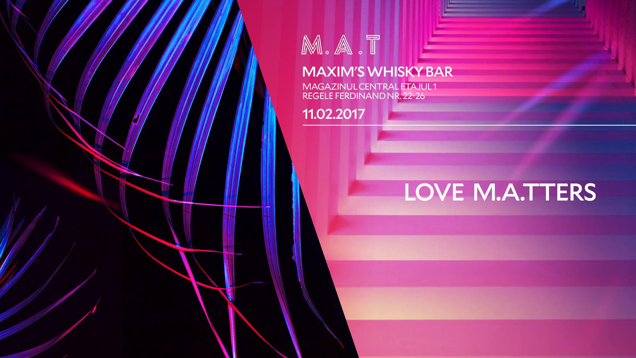 Love MATters @ Maxim's Bar