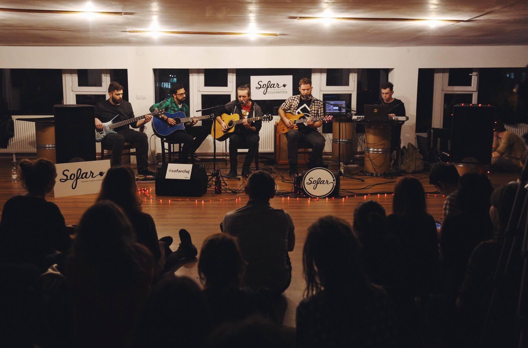 Sofar Sounds Cluj-Napoca. Ce este și cum a fost?