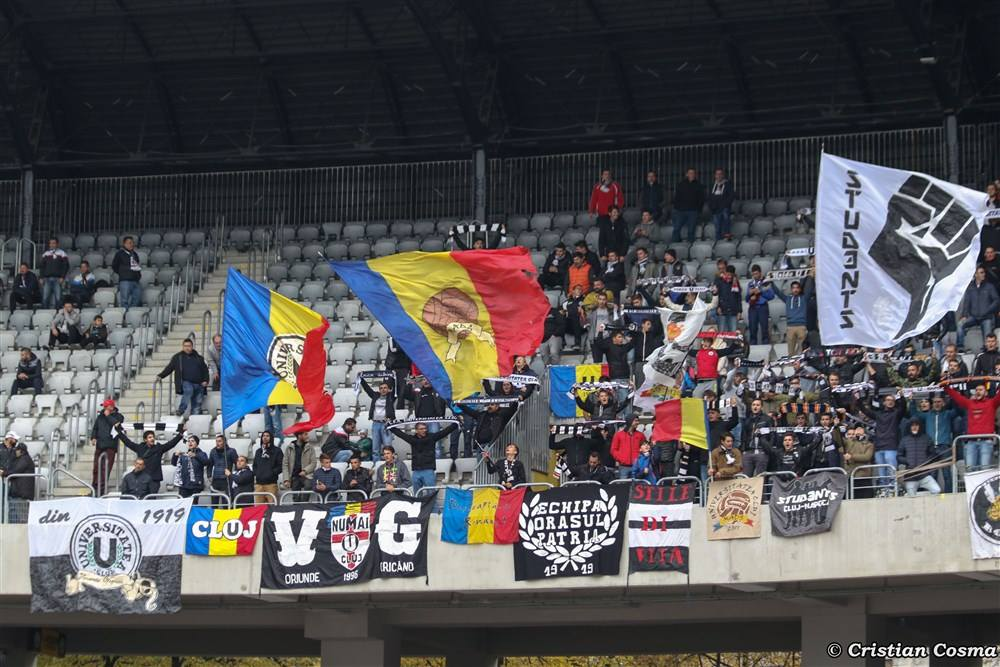 "Universitatea Cluj – FC Zalău @ Parcul Sportiv ""Iuliu Hatieganu"""