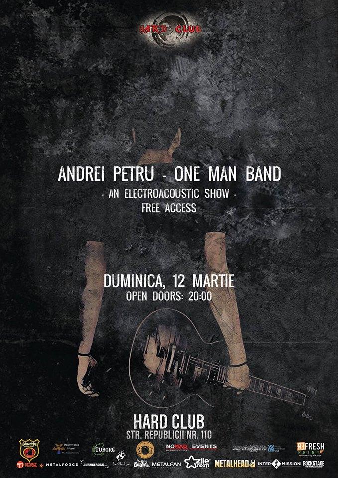 Andrei Petru – One Man Band @ Hard Club