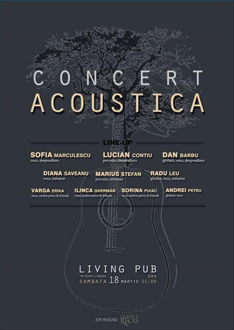 Concert Acoustica @ Living Pub