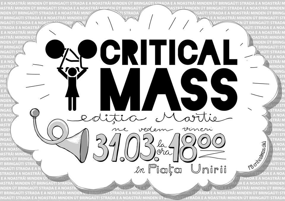 Critical Mass @ Piața Unirii