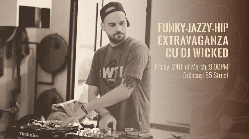 Funky-Jazzy-Hip Extravaganza @ Brâncuși 85 – Record Bistro