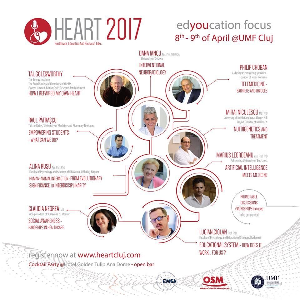Heart 2017 @ UMF Cluj-Napoca