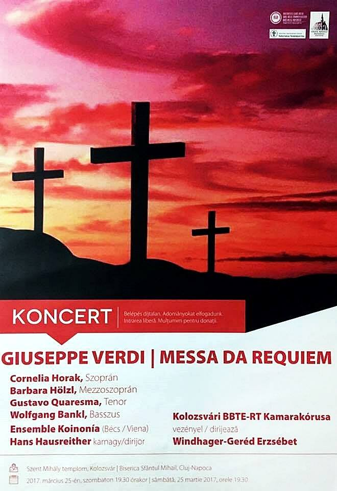 Messa Da Requiem @ Biserica Sfântul Mihail