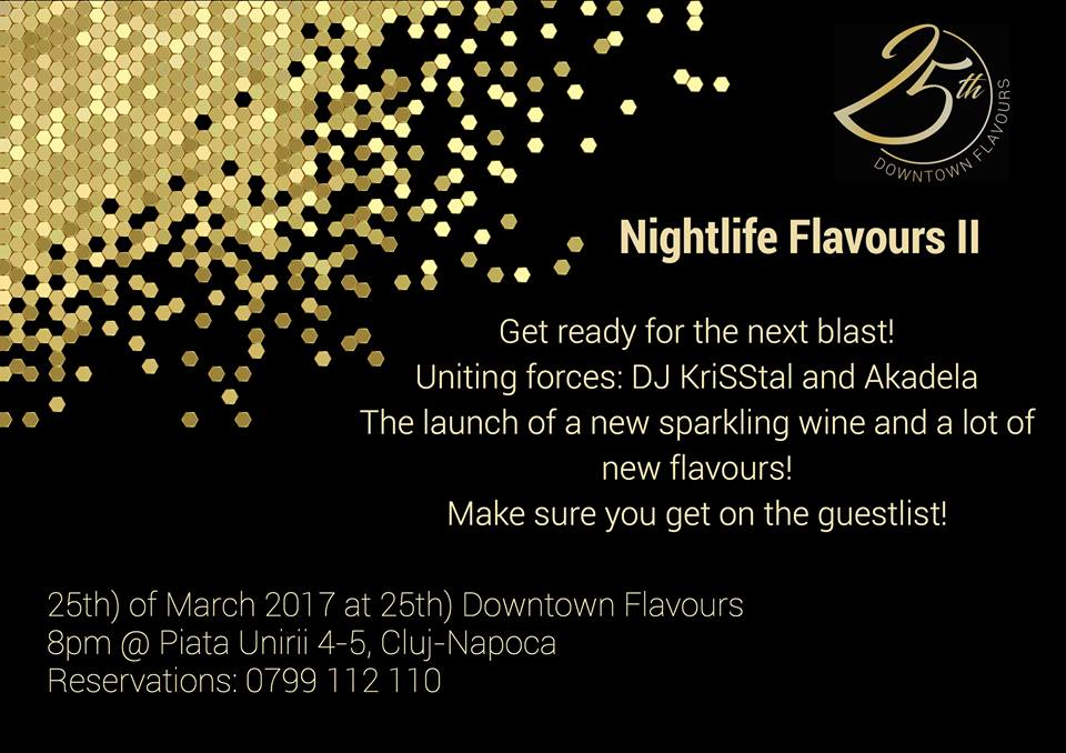 Nightlife Flavours @ 25th downtown flavours