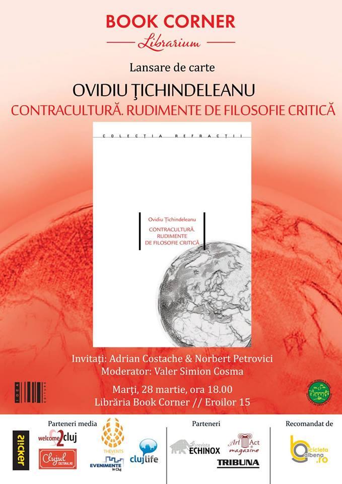Ovidiu Ţichindeleanu @ Book Corner Librarium