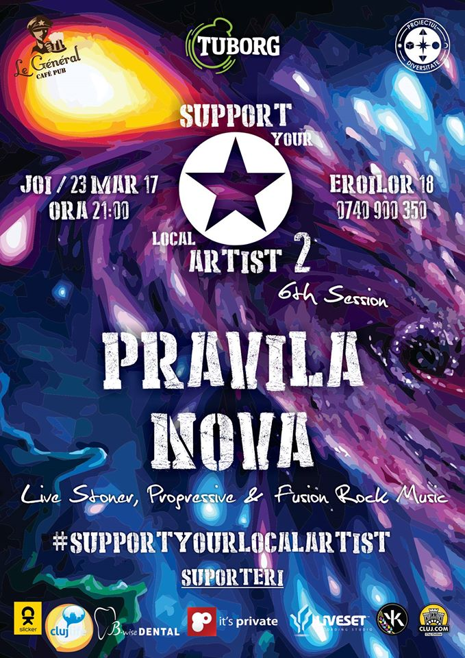 Pravila Nova @ Le Général Café-Pub