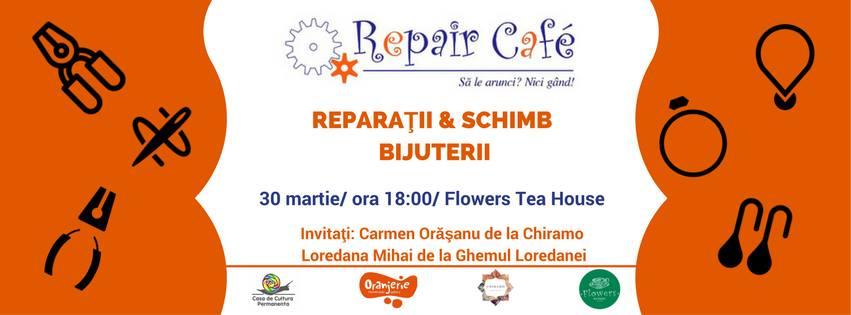 Reparaţii şi schimb de bijuterii @ Flowers Tea House