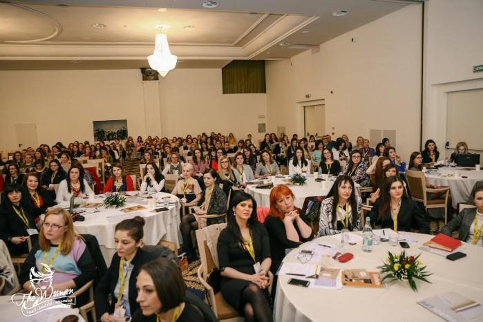 500 de femei lider își dau întâlnire în luna martie la Cluj