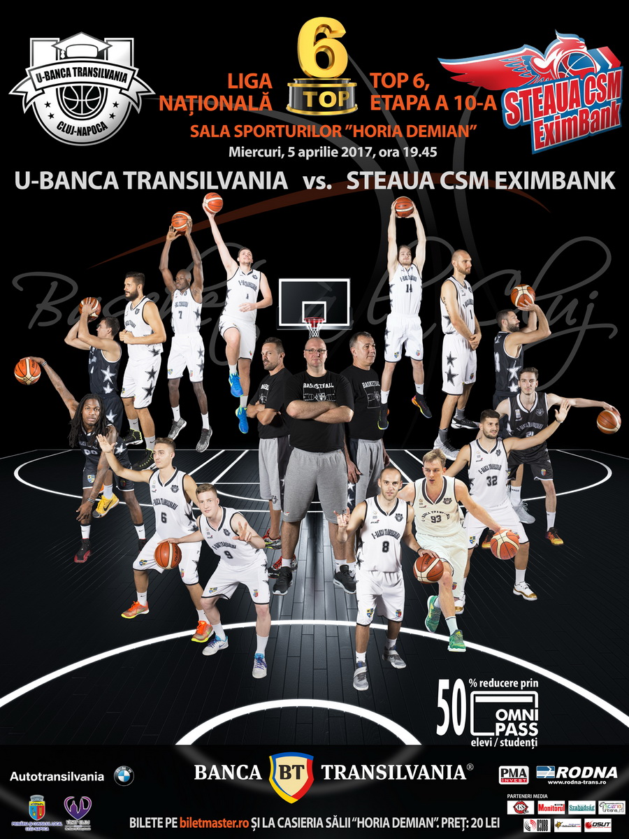 U-Banca Transilvania – Steaua CSM Eximbank Bucuresti