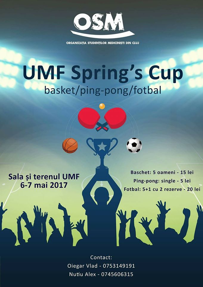 UMF Spring's Cup @ UMF Sala de Sport