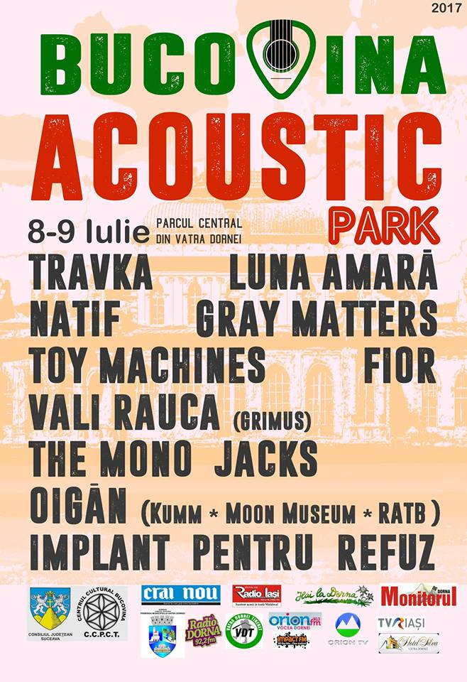 Bucovina Acoustic Park @ Vatra Dornei